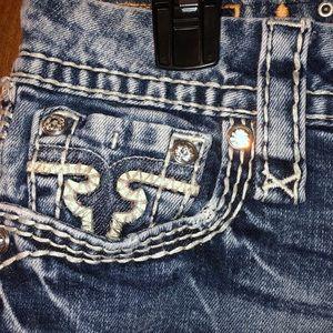 Rock Revival Jeans - Rock Revivals Janelle Straight Size 28